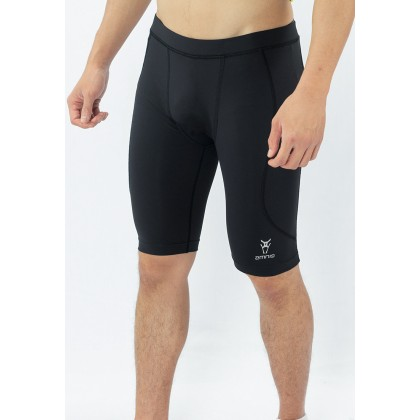 Amnig Men Maxforce Victory Logo Compression Shorts