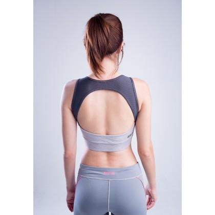 Amnig Women Boost Open Back Sports Bra