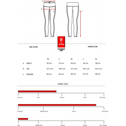 Amnig Women Studio Legging
