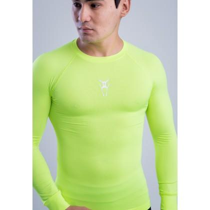 Amnig Men Ignite Compression Long Sleeve Top