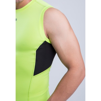 Amnig Men Ignite Compression Sleeveless Top