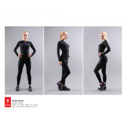 Amnig Women Maxfore Recapture Compression Long Sleeve Top