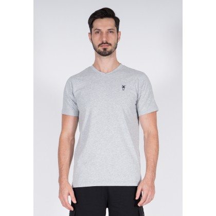 Amnig Men Active V Neck Tee