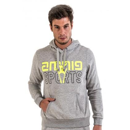 Amnig Unisex Sports Pullover Hoodie